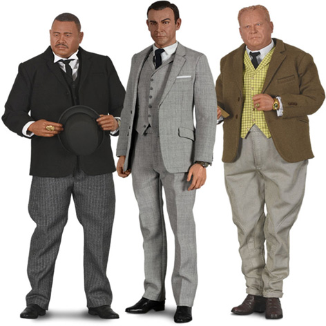 big chief goldfinger collection 1 6 scale figures james bond oddjob