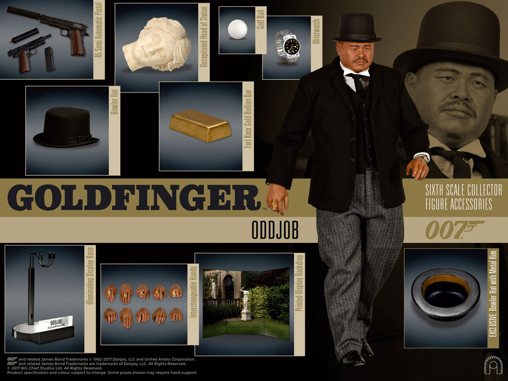 8dc778c8c717 Goldfinger figures by BIG Chief Studios available for pre .