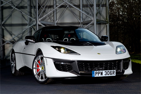 Lotus Evora 410 James Bond front