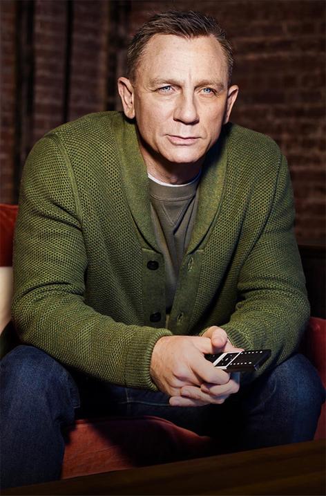 Daniel Craig In Ad Campaign For Vodafone Gigatv Bond Lifestyle
