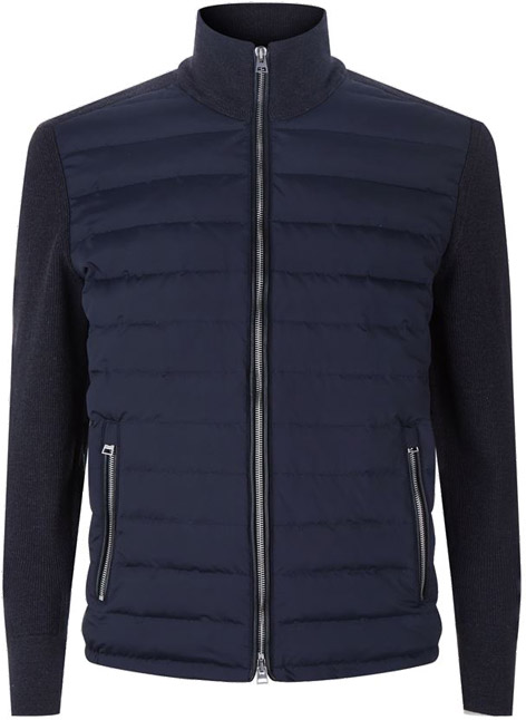 Tom Ford James Bond sweater bomber jacket SPECTRE in blue