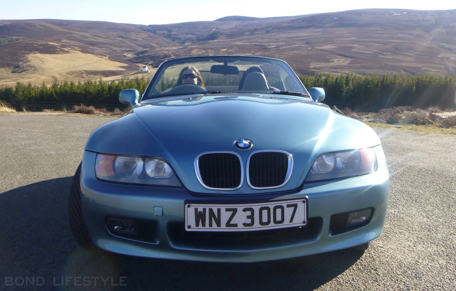 Bmw Z3 In Goldeneye Trim Plus Collectibles For Sale Bond