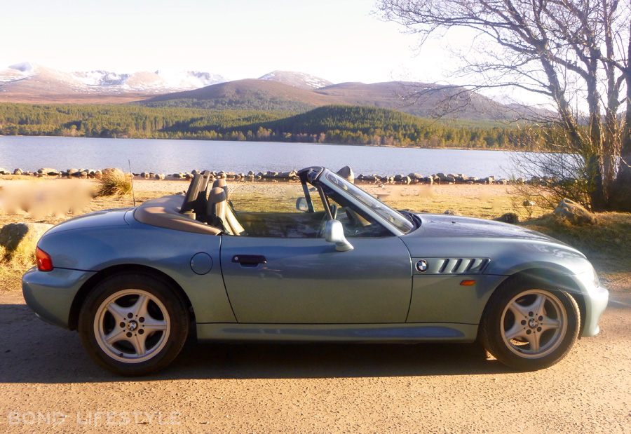 BMW Z3 in GoldenEye trim plus collectibles for sale | Bond ...