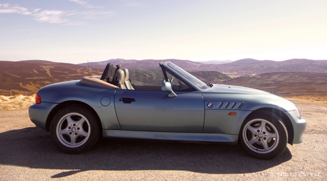 bmw z3 atlanta blue