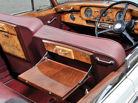 Rolls Royce Silver Cloud 1 Ken Adam interior right had drive
