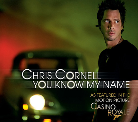 Chris Cornell You Know My Name Casino Royale themesong