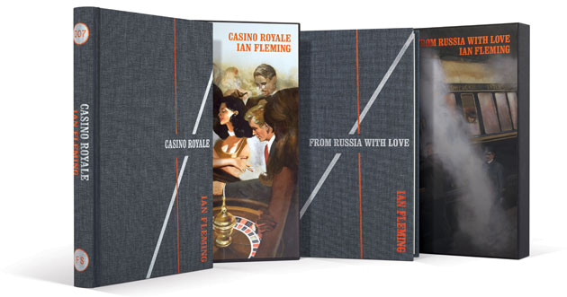 folio covers casino royale from russia with love