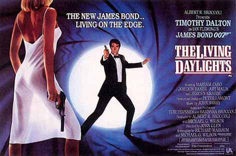 living daylights poster