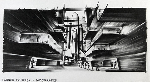 Moonraker Set Ken Adam