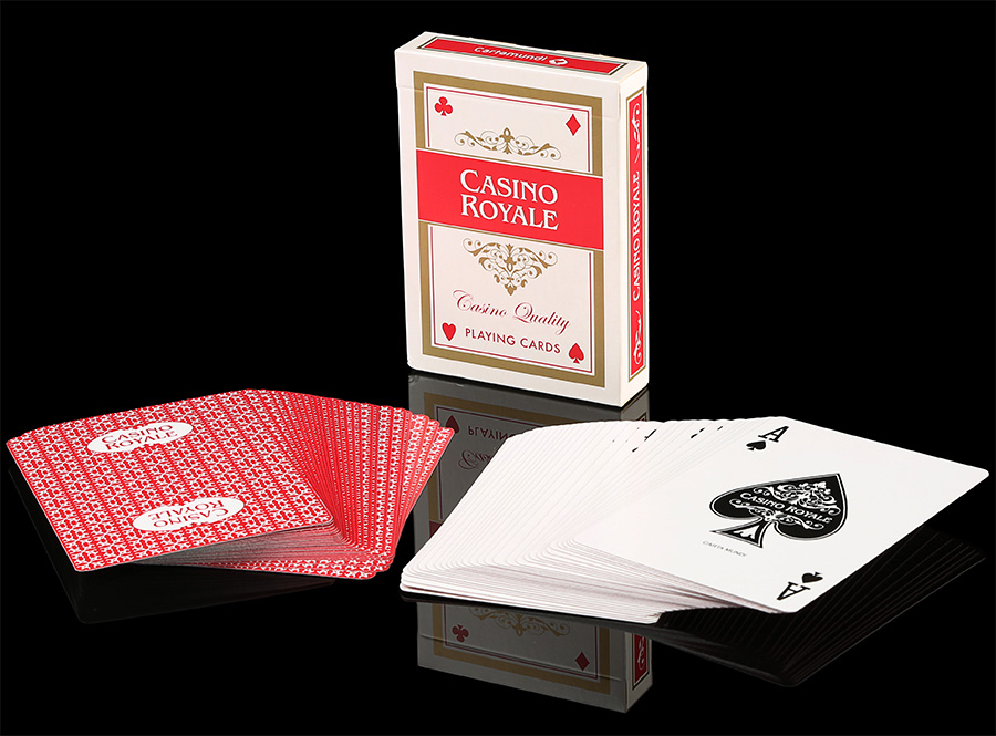 Casino Royale Refined Plastic Playing Cards TPCC