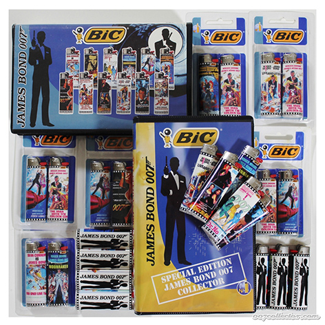 bic lighters james bond
