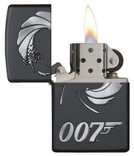 Zippo 007 james bond spectre logo open  sc 1 st  Bond Lifestyle & Zippo releases James Bond lighter line   Bond Lifestyle