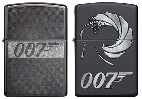 Zippo James Bond Lighter collection 1