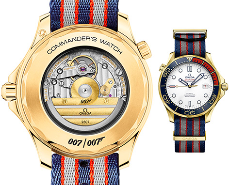 Omega Commander's watch gold