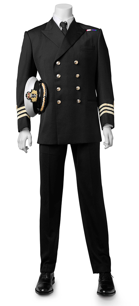 you only live twice uniform recreated by lindy hemming omega commander james bond