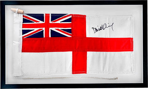 omega spectre flag signed by daniel craig auction christies