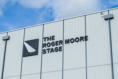 pinewood studios roger moore stage