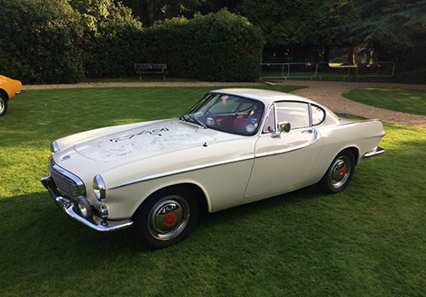 VOlvo P1800 The Saint Roger Moore tribute