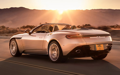 Aston Martin DB11 Volante rear
