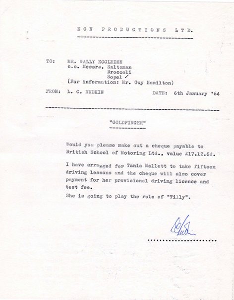 tania mallet letter driver's licence