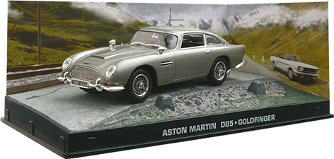 bond in motion car collection aston martin db5 goldfinger 1:43