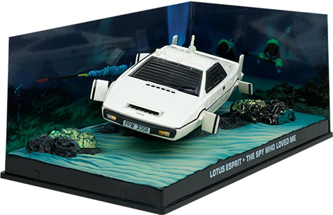 lotus esprit bond in motion scale diecast model