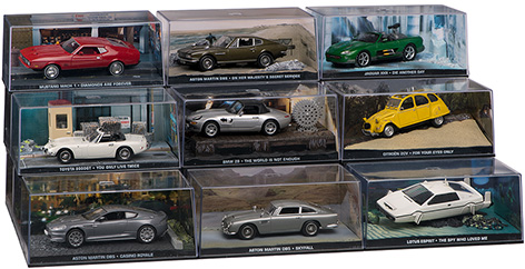 bond in motion car collection group