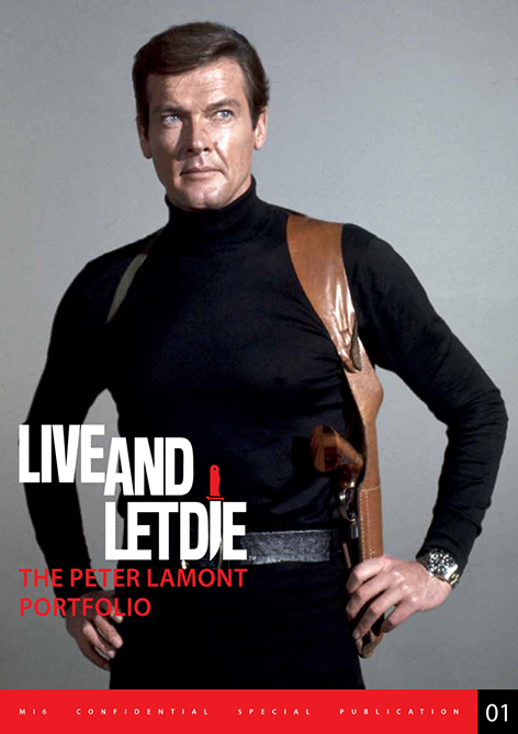 mi6 confidential limited edition peter lamont live and let die