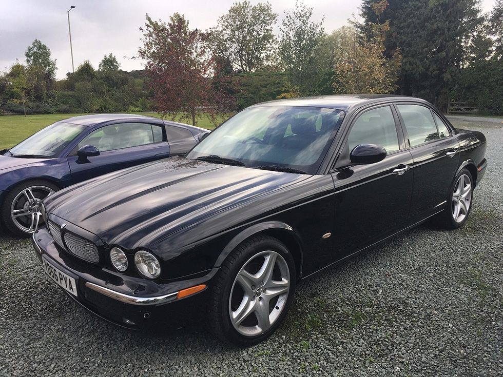 Screen-used Jaguar XJ From SPECTRE For Sale