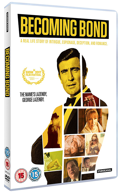 Becoming Bond DVD George Lazenby