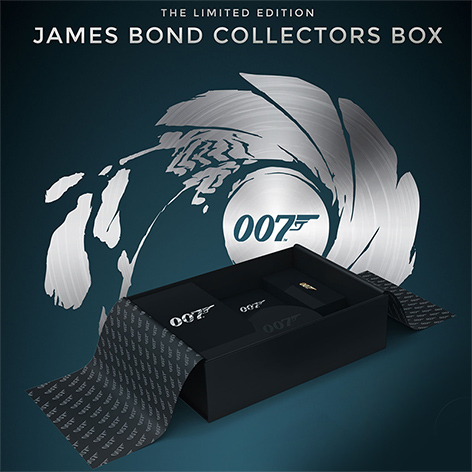 abox limited edition james bond collectors box
