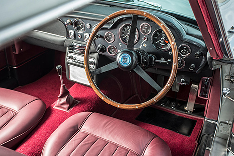 paul mccartney aston martin db5 bonhams auction interior