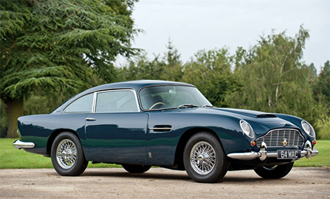 Aston Martin DB5 Paul McCartney Sierra Blue