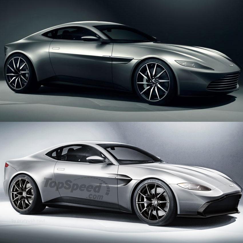 New Aston Martin Vantage Revealed Looks A Lot Like The Db10 Bond Lifestyle