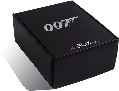 james bond collectors box