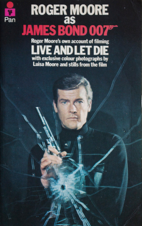 Roger Moore as James Bond Live and Let Die