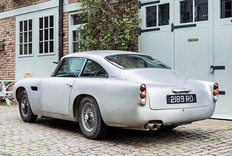 aston martin db5 bonhams rear