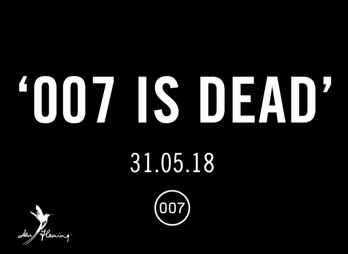 007 is dead forever and a day promo james bond anthony horowitz