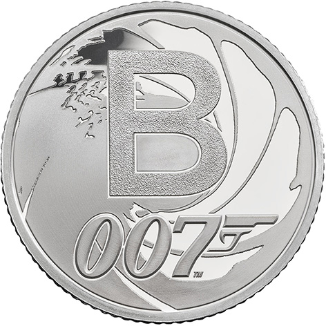 James Bond coin Royal Mint