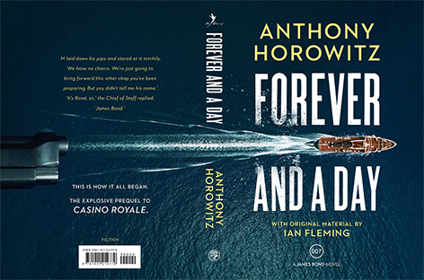 anthony horowitz forever and a day cover UK penguin random house back front