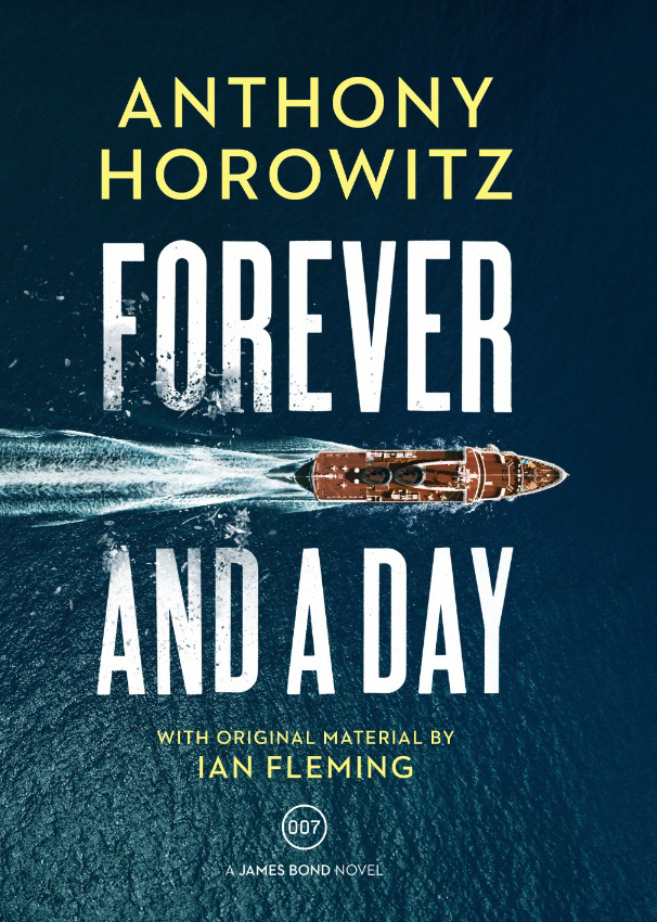 anthony horowitz forever and a day cover UK penguin random house