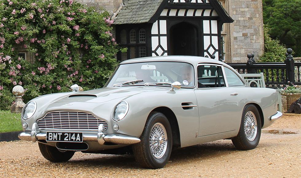 Aston Martin Db5 From Goldeneye At Bonham S Goodwood Festival Of Speed Sale Bond Lifestyle