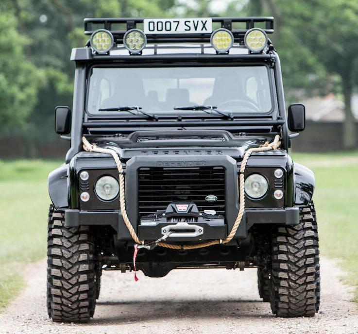 Land Rover Defender SPECTRE edition at Bonham's Goodwood