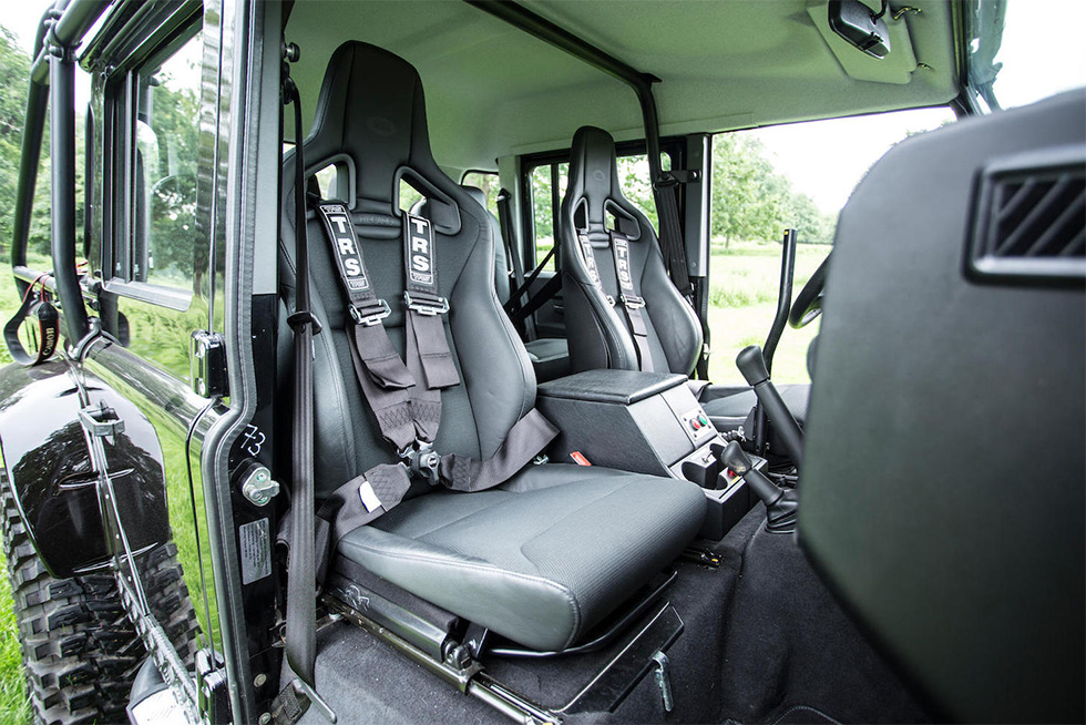 Land Rover Defender SPECTRE interior