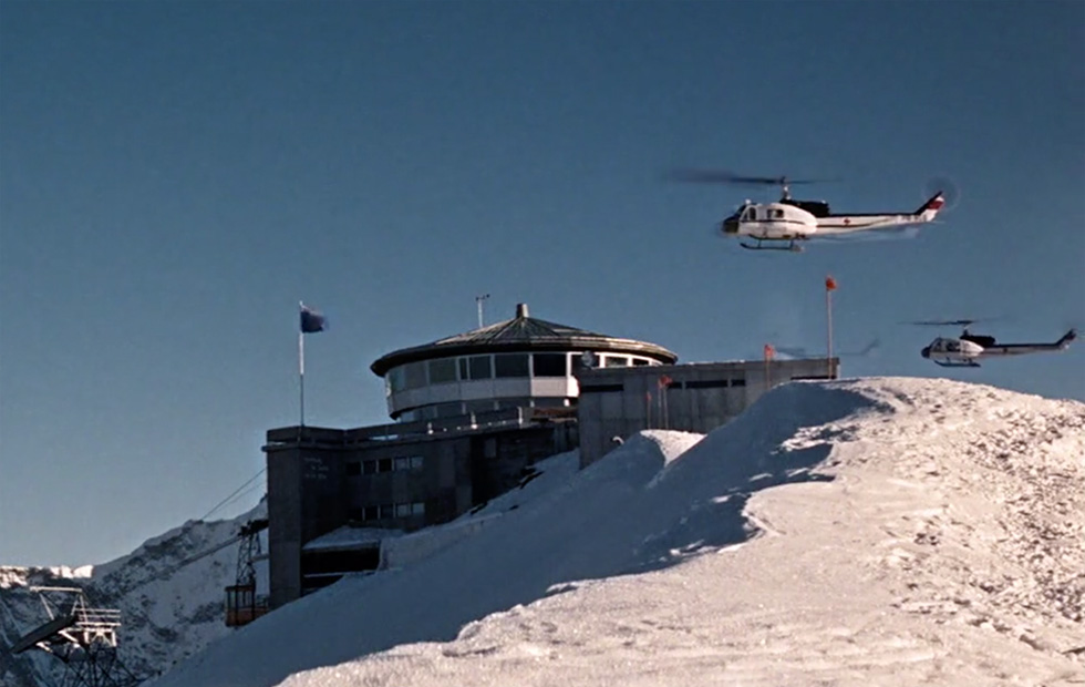 Helicopters Piz Gloria Her Majesty's Secret Service