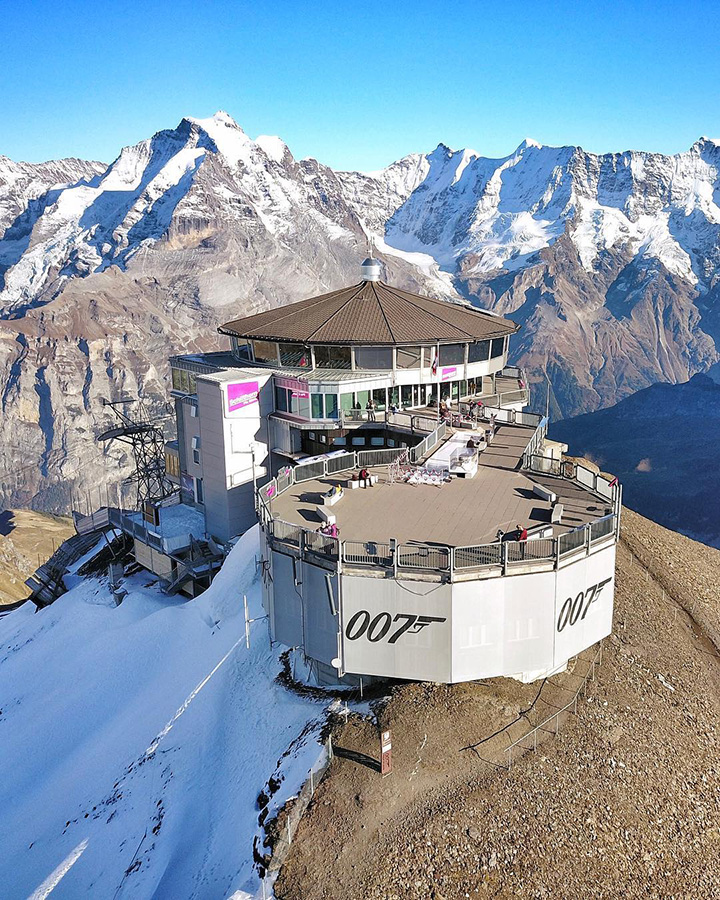 piz gloria schilthorn 007 james bond