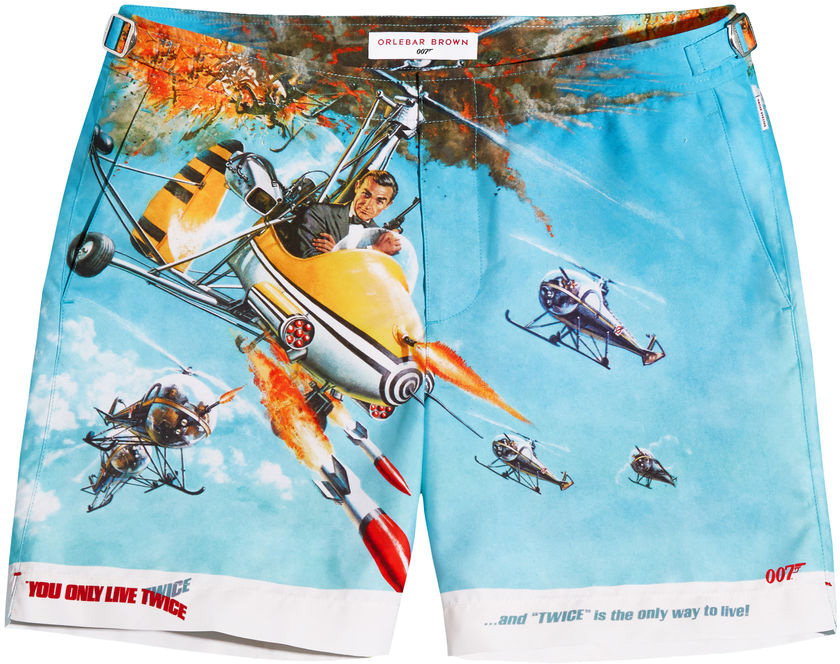 Orlebar Brown James Bond 007 Bulldog Shorts You Only Live Twice