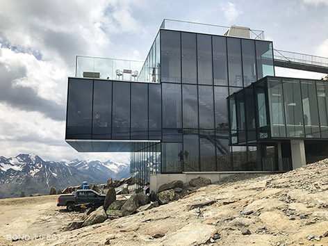 007 Elements solden gaislachkogl james bond ice q restaurant