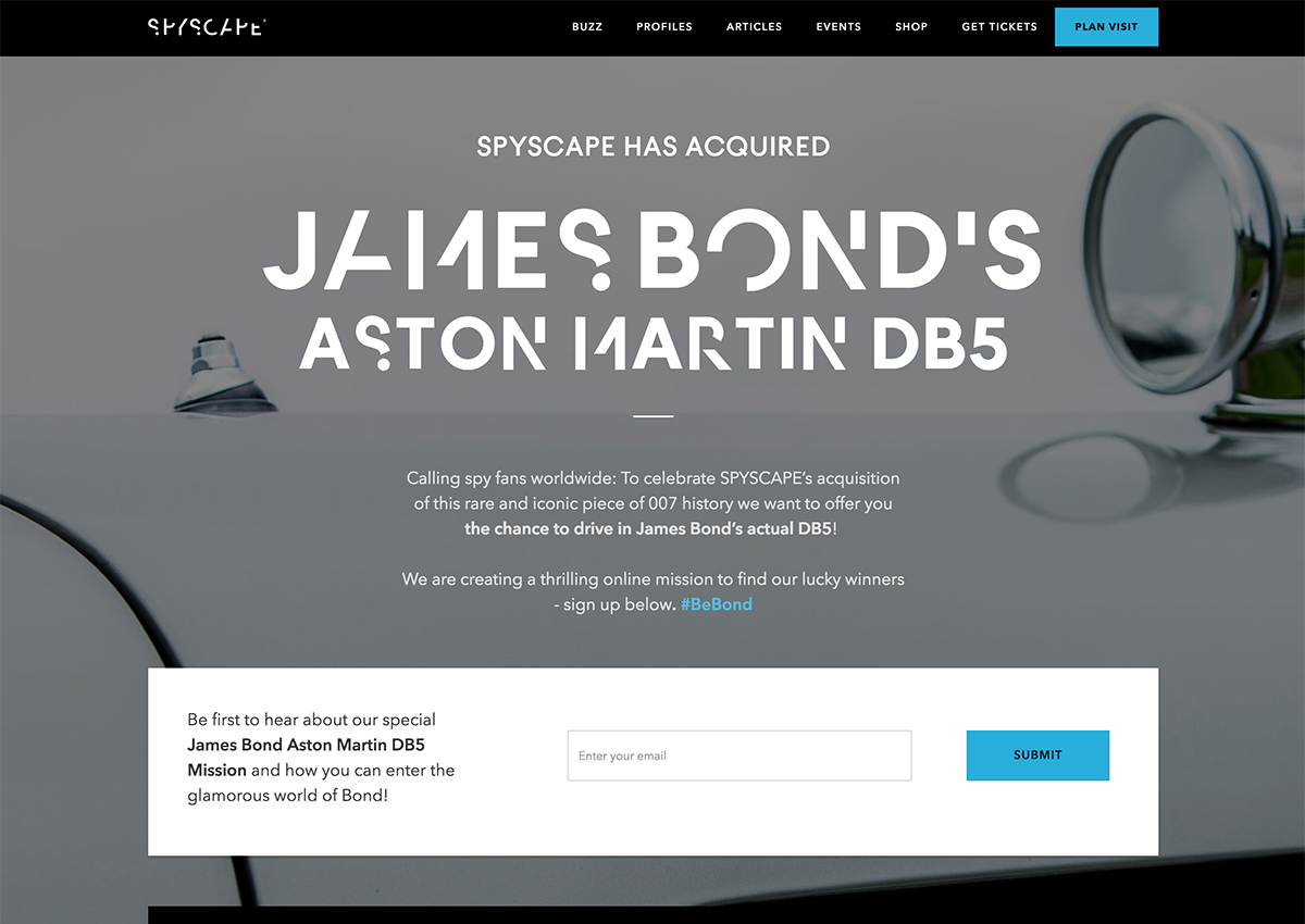 spyscape aston martin db5 goldeneye james bond