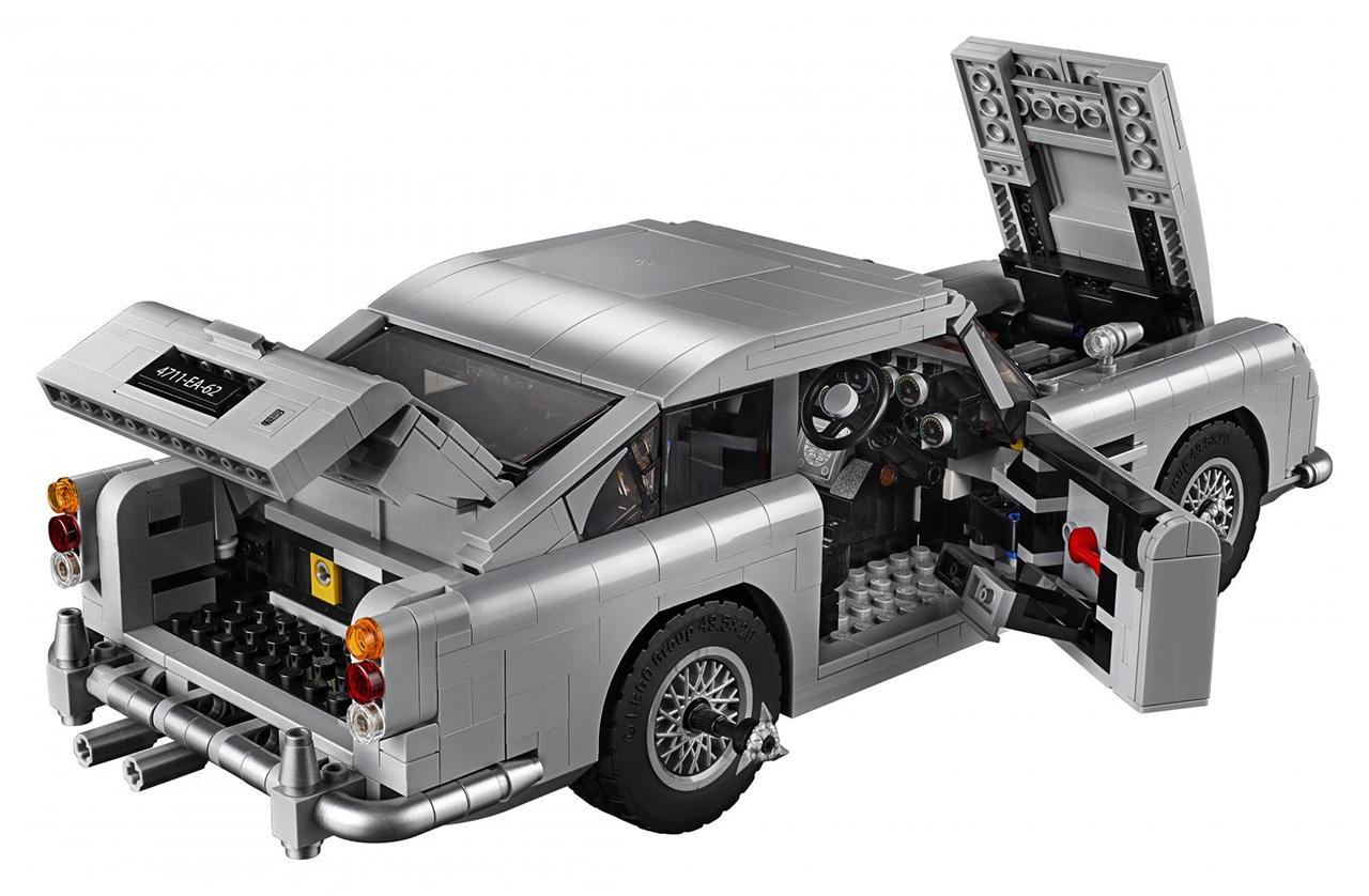 lego reveals aston martin db5 creator expert model bond. Black Bedroom Furniture Sets. Home Design Ideas